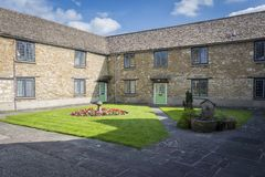 Cotswold Almshouse and Garden Stock Image