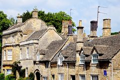 Cotswold buildings, Burford. Stock Image