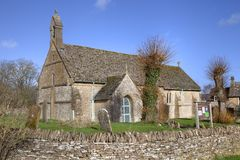 Cotswold chapel Stock Image