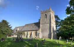 Cotswold church at Ebrington Royalty Free Stock Image