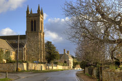 Cotswold Church, England Royalty Free Stock Photography