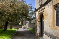 Cotswold Churchyard Royalty Free Stock Image