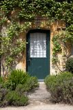 Cotswold cottage door Stock Photos