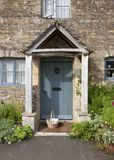 Cotswold cottage doorway Stock Photo