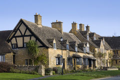 Cotswold cottages Stock Photography