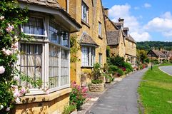 Cotswold cottages, Broadway. Stock Image