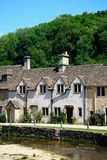 Cotswold cottages, Castle Combe. Stock Photo