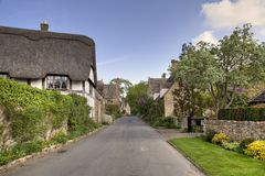 Cotswold cottages Stock Photos
