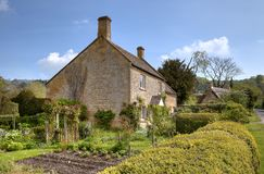 Cotswold Cottages Royalty Free Stock Image