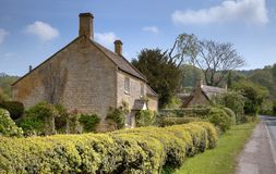 Cotswold Cottages Stock Image