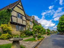 Cotswold country village. Village of Lovell Minster, in the heart of the Cotswolds, England Royalty Free Stock Images