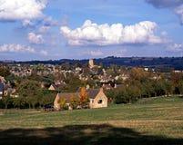 Cotswold-Dorf, Campden abbrechend, England. Lizenzfreies Stockbild