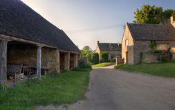 Cotswold farm Stock Image