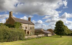 Cotswold farmhouse Stock Photography
