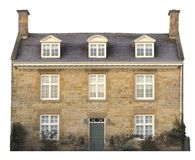 Cotswold house, cut-out Stock Images