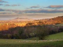 Cotswold landscape Royalty Free Stock Photo