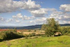 Cotswold-Landschaft Lizenzfreies Stockfoto