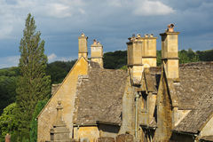 Cotswold Rooftops Royalty Free Stock Images