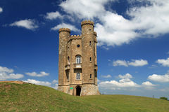 The Cotswold's Broadway Tower Royalty Free Stock Photos