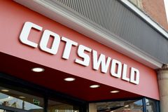 Cotswold shop sign Stock Image