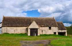 Cotswold stone barn Stock Image