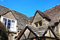 Cotswold stone cottage, Broadway. Stock Photos
