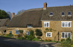 Cotswold Stone cottages Royalty Free Stock Photos