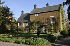 Cotswold Stone House Stock Photos