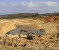 Cotswold stone quarry broadway Royalty Free Stock Photos