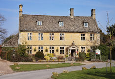 Cotswold Stone Village Houses Stock Images