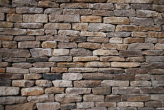 Cotswold stone wall, Oxfordshire Stock Images