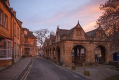 Cotswold town of Chipping Campden at dawn Stock Image