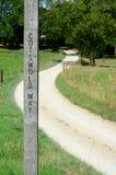 Cotswold vägvandringsled Arkivbilder