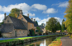 Cotswold Village royalty free stock photos