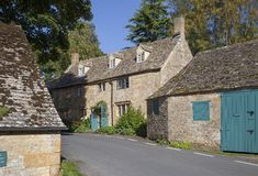Cotswold village, England Royalty Free Stock Image