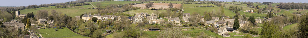 Cotswold Village of Naunton, Gloucestershire,UK Royalty Free Stock Photography