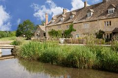 Cotswold village streets Stock Image