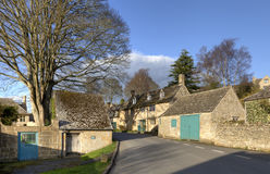 Cotswold village in Summer Stock Photos