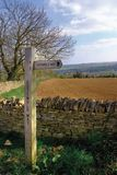 Cotswold way Stock Image