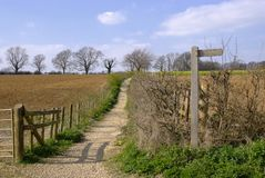 Cotswold way Royalty Free Stock Photo