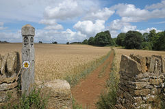 The Cotswold Way Royalty Free Stock Photo