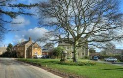 Cotswold wioska Obrazy Royalty Free