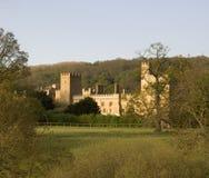 cotswolds英国gloucestershire米德兰平原winchcombe 免版税库存照片