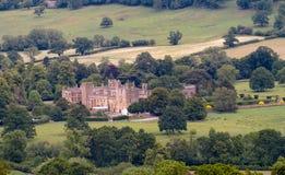 cotswolds замока приближают к winchcombe Великобритании sudeley Стоковое фото RF