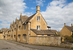 Cotswolds. Ancient village Lower Slaughter in the Cotswolds region Stock Photos
