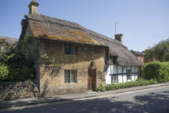 Cotswolds. Cottage cotswolds village england uk Royalty Free Stock Photos