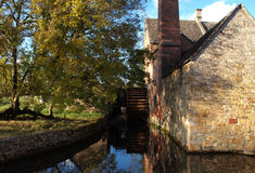 Cotswolds Mill Stock Image