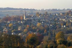 Cotswolds scénique, Painswick photo stock