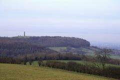 Cotswolds scenico - campagna rurale fotografia stock