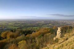 Cotswolds scenico, Cheltenham Fotografie Stock Libere da Diritti
